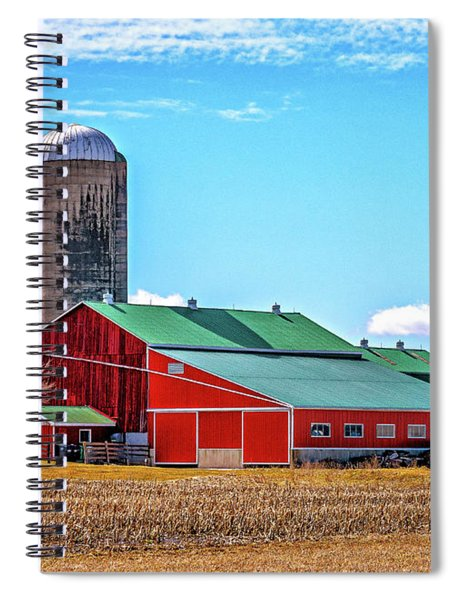 Big Red Barn 3 Spiral Notebook