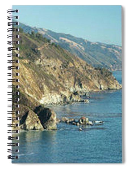 Big Sur Sunset Light Spiral Notebook