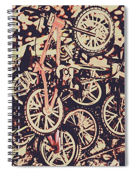 Bike Mountain Spiral Notebook