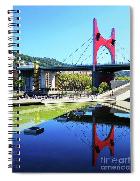 Bilbao Reflections Spiral Notebook by Rick Locke