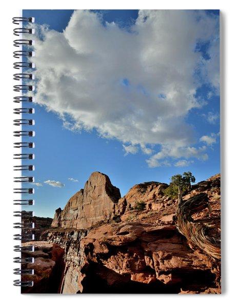 Billowing Cloud Above Green River Overlook Spiral Notebook