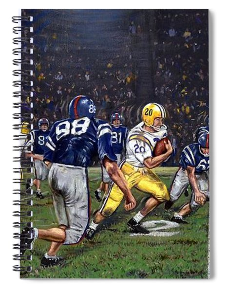 Billy Cannon's Halloween Heisman Haul Spiral Notebook