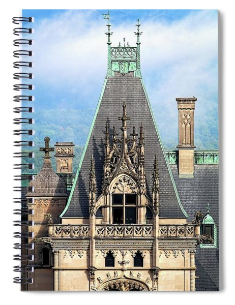 Biltmore Architectural Detail  Spiral Notebook