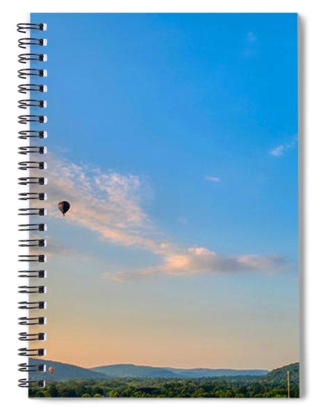 Binghamton Spiedie Festival Air Ballon Launch Spiral Notebook