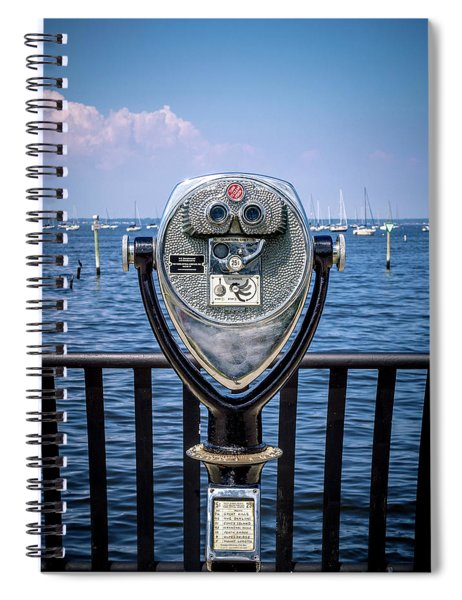 Binocular Viewer Spiral Notebook