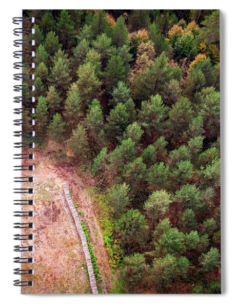 Bird Eye View Spiral Notebook