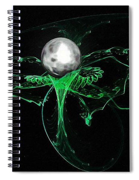 Birth Of A Planet Spiral Notebook