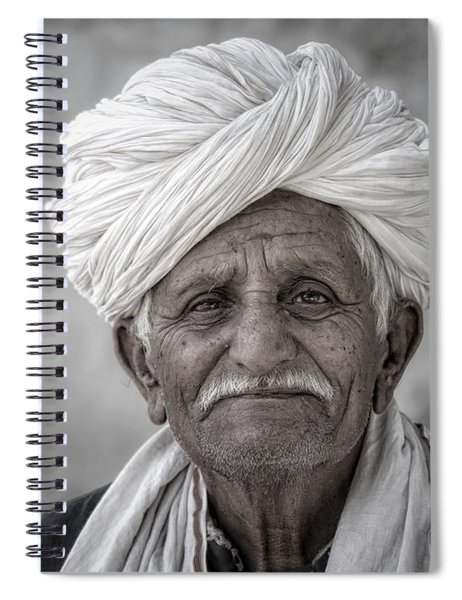 Bishnoi Elder Spiral Notebook