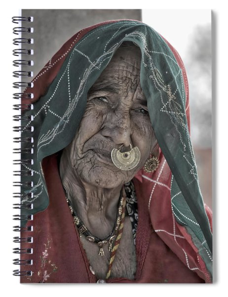 Bishnoi Woman Spiral Notebook
