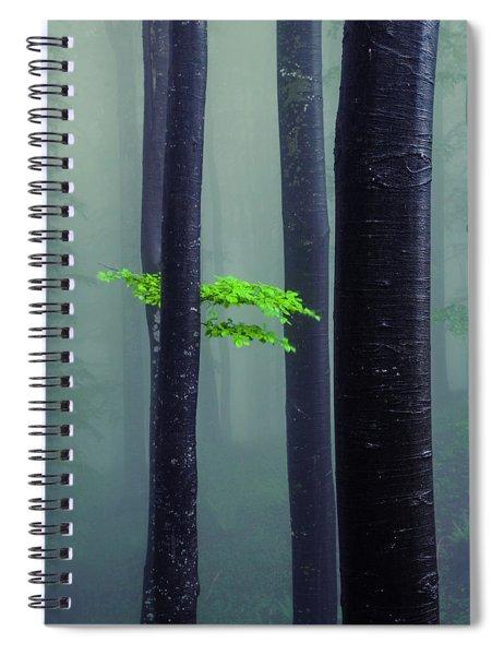 Bit Of Green Spiral Notebook
