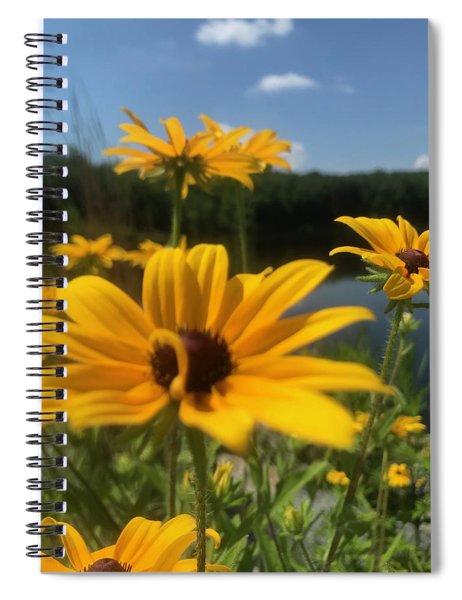 Black-eyed Susan Flowers 2 Spiral Notebook