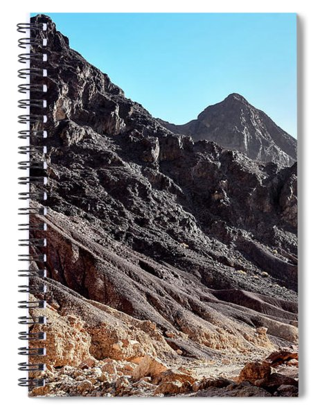 Spiral Notebook featuring the photograph Black Is Beautiful by Arik Baltinester