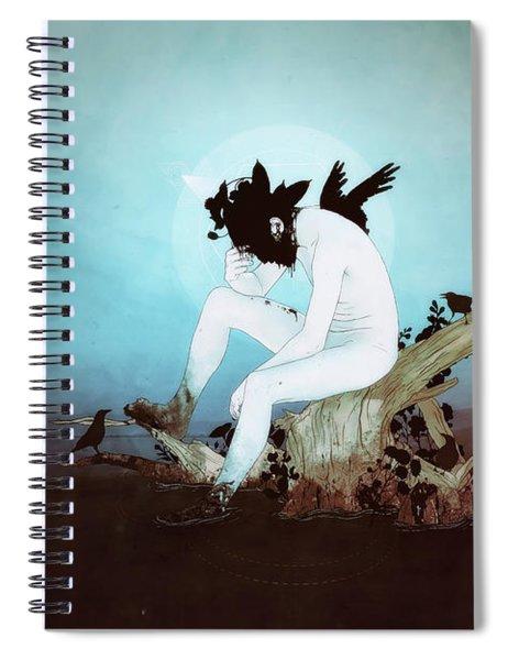 Black Lake Spiral Notebook
