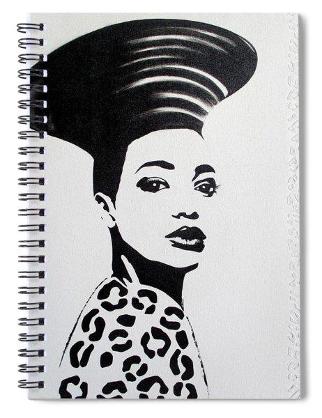 Black Panther Spiral Notebook