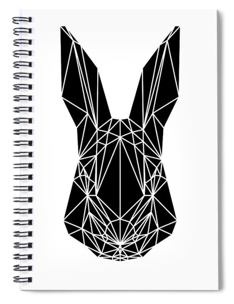 Black Rabbit Spiral Notebook