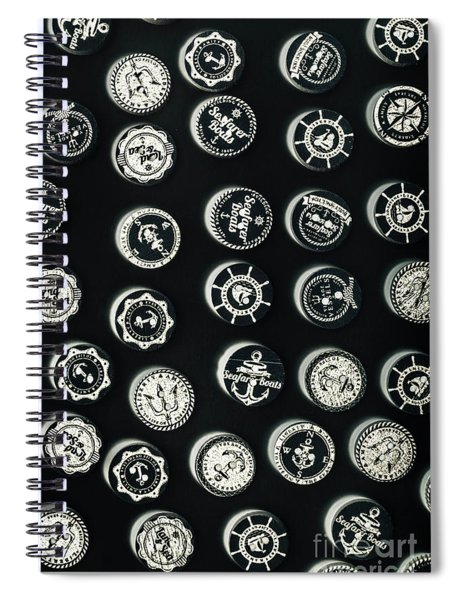Black Sea Insignia Spiral Notebook