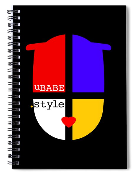 Black Style Spiral Notebook