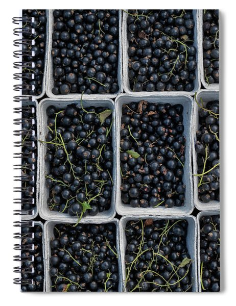 Blackcurrants Spiral Notebook