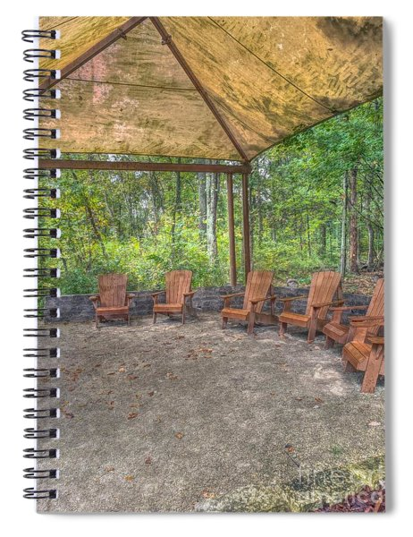 Blacklick Woods - Chairs Spiral Notebook