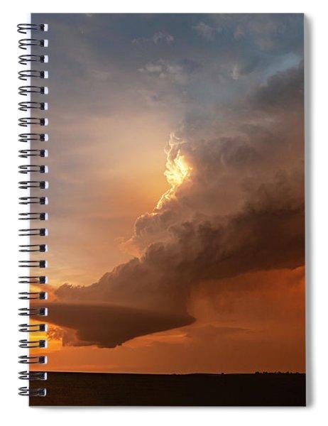 Blazing Spiral Notebook