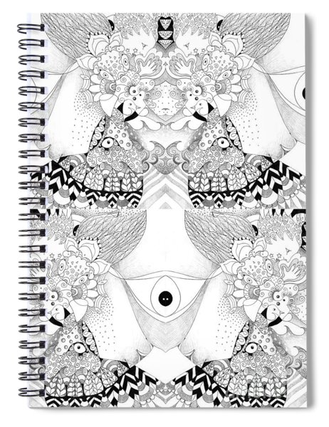 Blessed Be 3 Spiral Notebook