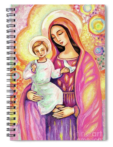 Blessing From Light Spiral Notebook