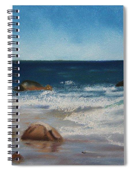 Block Island Surf Spiral Notebook