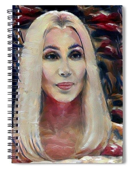 Blonde Cher  Spiral Notebook