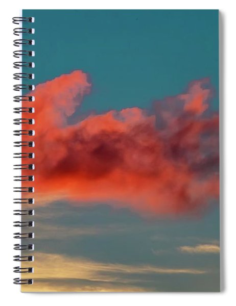 Blood Cloud Spiral Notebook