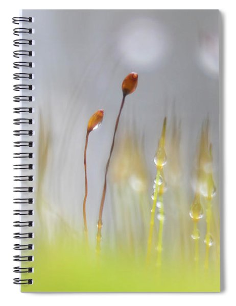 Blooming Moss Spiral Notebook