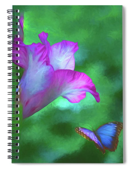 Blossom And Butterfly Spiral Notebook