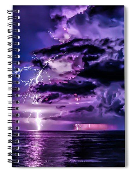 Blossoming Storm Spiral Notebook