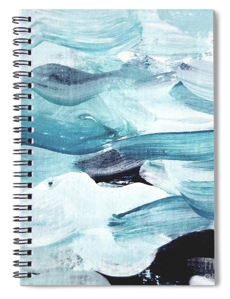 Blue #13 Spiral Notebook