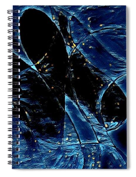 Blue Angel Spiral Notebook