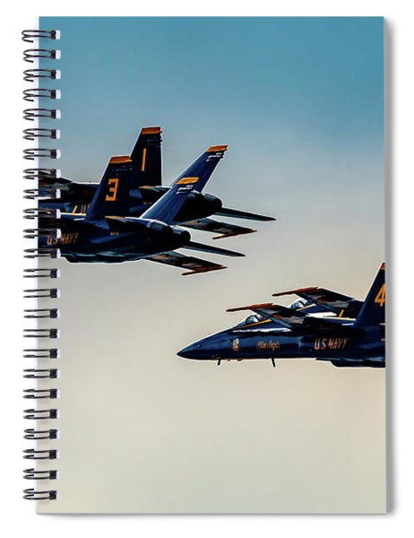 Blue Angels 2 X 2 Spiral Notebook