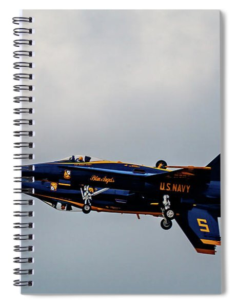 Blue Angels 5 And 6 As One Spiral Notebook