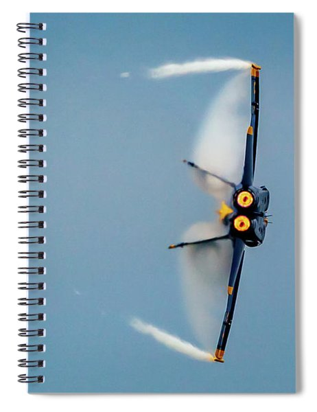 Blue Angels Vapor Spiral Notebook