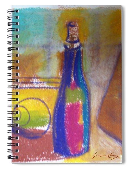 Blue Bottle Spiral Notebook
