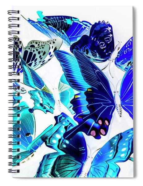 Blue Buggery  Spiral Notebook