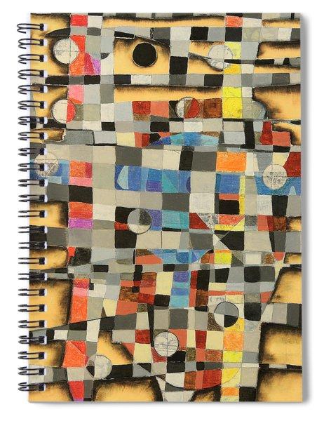 Blue Bull Spiral Notebook