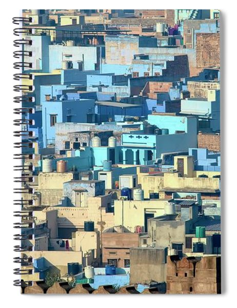 Blue City Vista Spiral Notebook