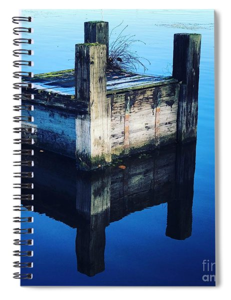 Blue Dock Spiral Notebook