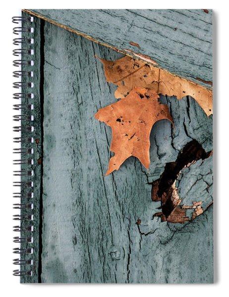 Blue Fence Spiral Notebook
