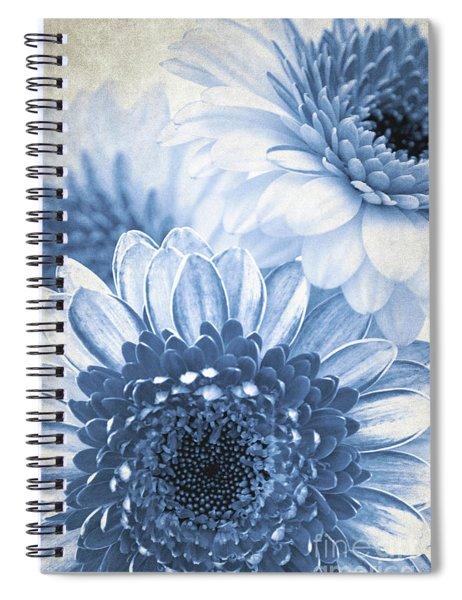 Blue Gerbera Spiral Notebook