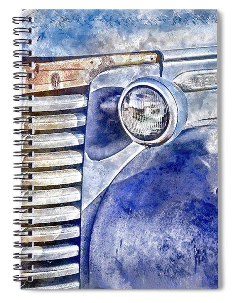 Blue Gmc Truck Spiral Notebook