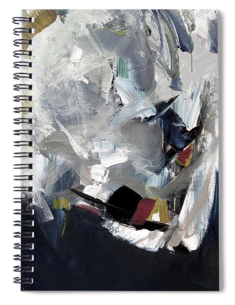 Blue Grey Spiral Notebook
