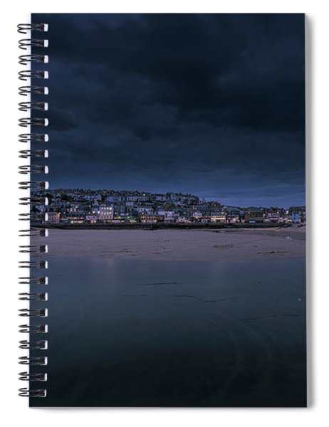 Blue Hour - St Ives Cornwall Spiral Notebook