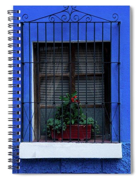 Blue-ming Beauty Spiral Notebook