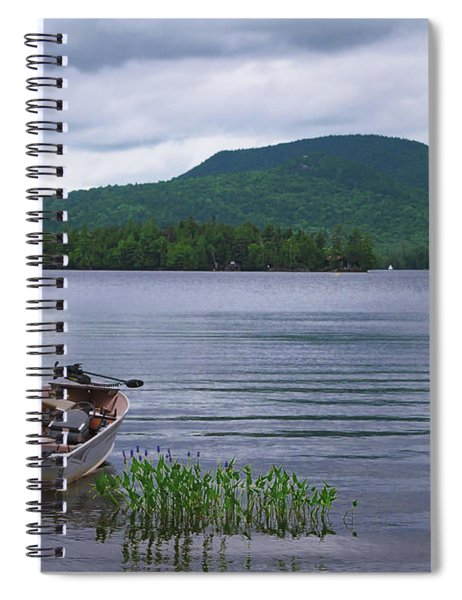 Blue Mountain Lake Spiral Notebook