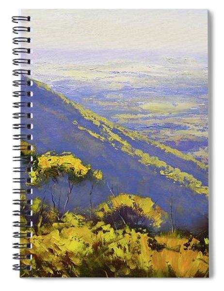 Blue Mountains Australia Spiral Notebook